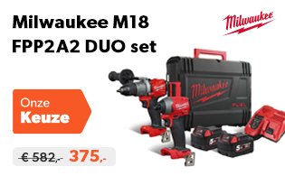 Milwaukee M18 aanbieding - FPP2A2