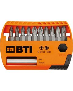 BTI bit set Phillips / Pozidriv 11 delig