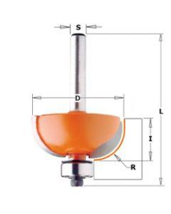 CMT Holprofielfrees radius 6,35 met lager