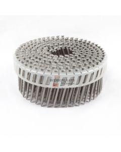 Coilnails 2,5x45 rvs/ring lenskop Plastic gebonden 15° (7.200)