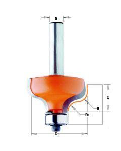 CMT profielfrees 28,7 mm dubbele radius 4