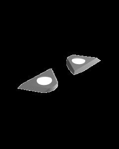 Lignatool omkeerbare mesinzet voor Helicut cutter  NL 60 mm (2st / set)