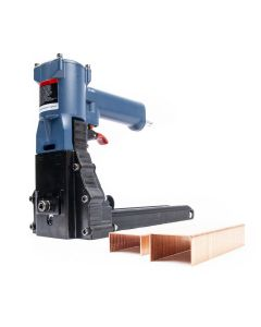 Pneumatische nietmachine / dozensluiter - 35P - 18-22mm