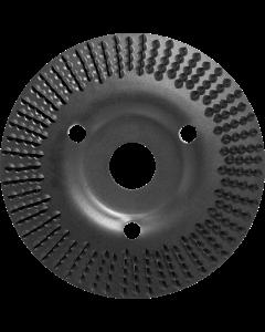 Powerrasp raspschijf 125x3x22mm schuin middelgrof