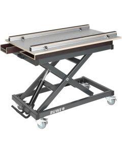 Ruwi Werktafel HPL gatenwerkblad met lades en opbergruimte