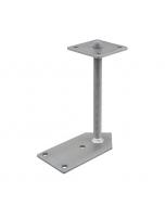 Paaldrager met 1 zijde 2x45°