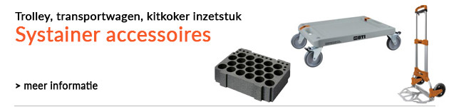 Accessoires voor systainers